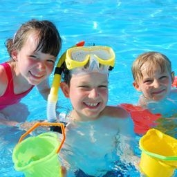 Pools Offer a Healthy Way to Tire Out Overactive Children