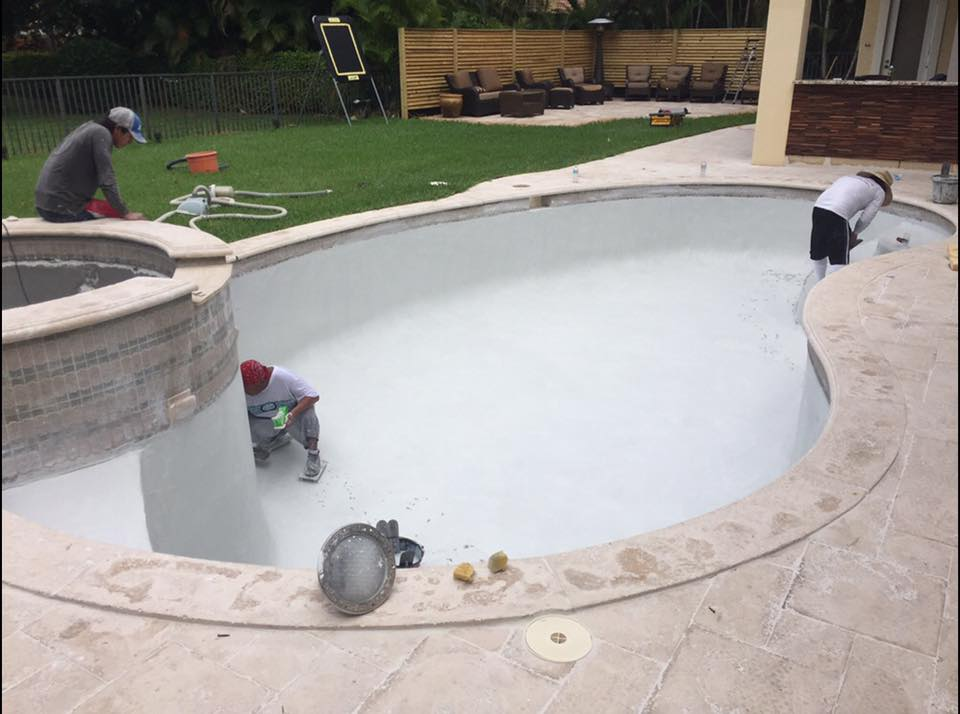 Pool Resurfacing Season Is Underway